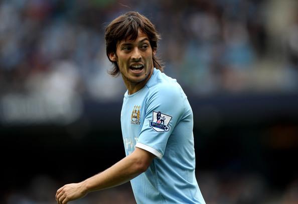 David+Silva+Manchester+City+v+Chelsea+Premier League