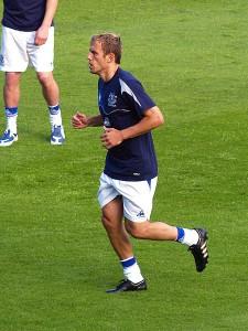 Ancien joueur d'Everton et Manchester United, Phil Neville devrait apporter sa touche dans le staff mancunien.